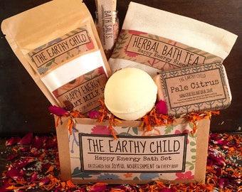 Vegan gift basket etsy spa bath gift set pamper gift gift for coworker vegan bath basket negle Images