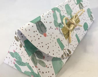 Cactus gift box