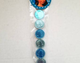 Moana candy wands chocolate coins birthday Moana Goody Bags Party favors Birthday Moana party