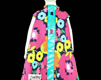 Lovey Coat in floral
