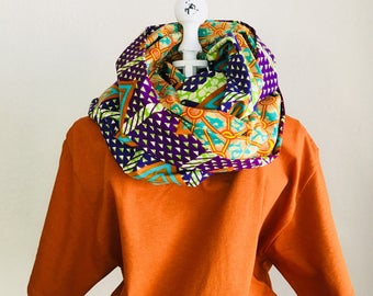 Infinity Scarf - African - OBI Scarf - Connected Love