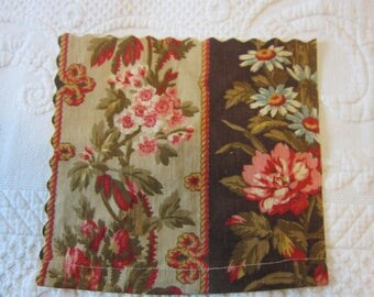 1950s Drapery Fabric Sample