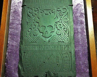 CTHULHU. Cast in slate tablet