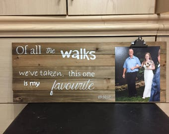 Rustic Wedding | Parent Gift | Father of the Bride | Mother of the Bride | Mother of the Groom | Father of the Groom | Momento |