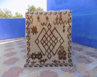 beautiful small azilal rug