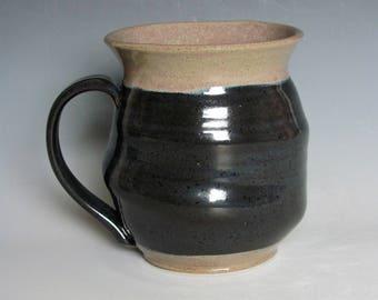 Extra Large Ceramic Mug, Coffee Mug, Tea Mug, Textured Mug, Pottery Mug, Handmade Mug, Beer Stein, Wheel Thrown Mug, Kitchenware, Gift