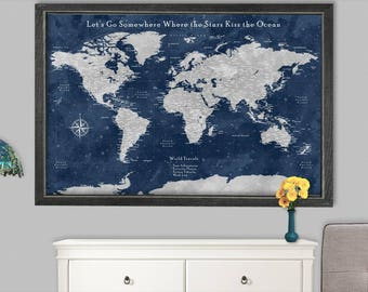 World map poster etsy world map poster large world map poster world map large poster world globe world map poster gumiabroncs Image collections