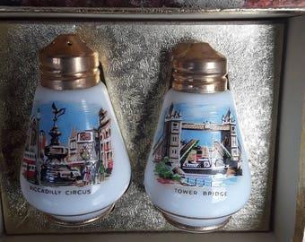 London salt and pepper pots SOLD