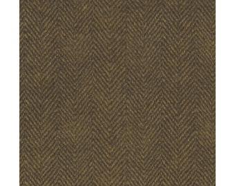 Maywood Woolies Flannel, Harringbone Espresso