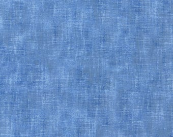 Studio Collection Chambray by Timeless Treasures C3096-Chambray 44 inch fabric by the yard or metre blender texture blue