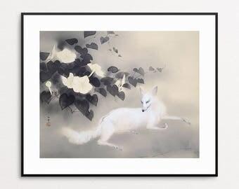 Hashimoto Kansetsu   Summer Evening, 1941   Japanese Painting   Asian Art   Japanese  Wall Part 33