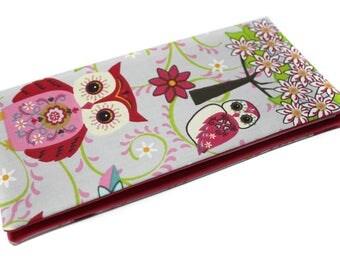 original family book OWL fabric case