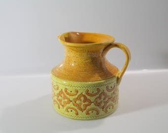 Beautiful vase  by Bitossi, Aldo Londi, Italian Pottery, Carta Fiorentina