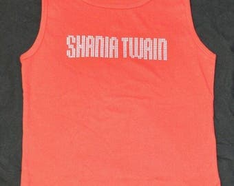 "Shania Twain ""Nail Head"" Sports Shirt for Girls (Official Merchandise)"