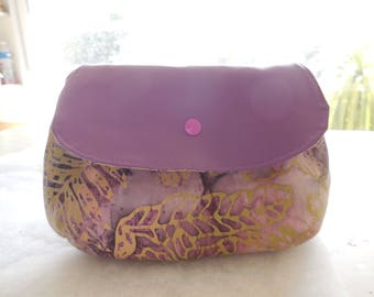 pouch for makeup, pencils or other bicolor
