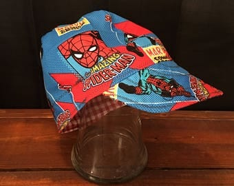 Spiderman Welding Cap