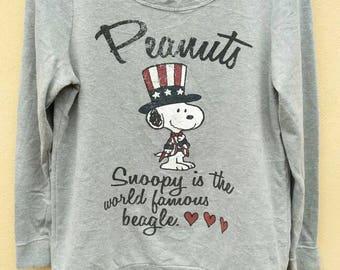 Vintage Snoopy sweatshirt / Peanuts sweatshirt crewneck jumper