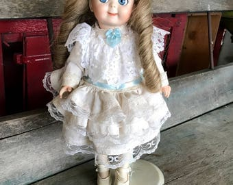 All Bisque Googly Doll JDK Reproduction Kestner #221 Germany
