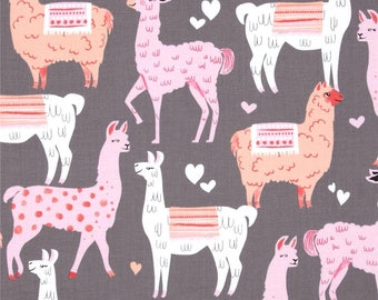 Fitted Crib Sheet-Pink Coral Girl Llama Crib Sheets-Baby Girl Crib Bedding-Llama Nursery Bedding-Pink Baby Nursery Bedding-Cactus Crib Sheet