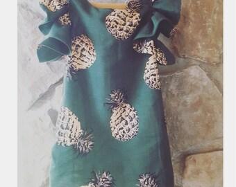 NIS Ruffle Sleeve Dress