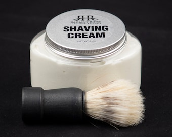 Soothing Shave Cream with Shave Brush
