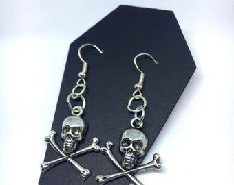 Skull and cross bones Earrings