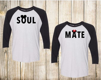 Soul Mate Shirts | Disney Couple Shirts | Disney matching shirts | His and Hers Shirt |