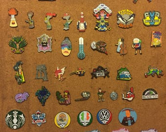 Whole pin board