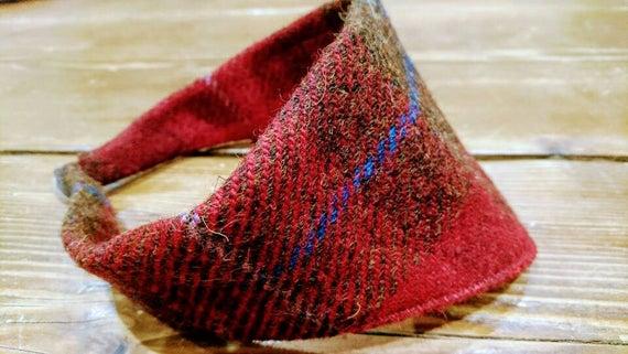 Hand made Harris Tweed dog scarf bandana