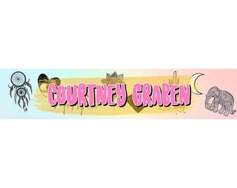 Customizable Karina Garcia Inspired Channel Banner