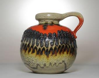 Vintage Home Decor | Ceramic Vase | Floor Vase | M size Vase | West Germany |  70s