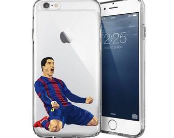 Luis Suárez iPhone cases - Samsung Cases High Quality Football phone cases - Suarez phone cases - Transparent phone case - Clear phone case