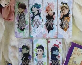 Monsta X The Clan Pt 2 Watercolour Splatter Edit Bookmarks