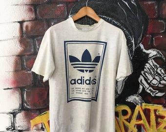 Vintage Adidas Classic Trefoil Logo Tshirt