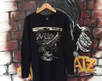 Uniqlo X Andy Warhol Pop Art Blouse Sweatshirt