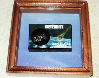 A real meteor in the frame!