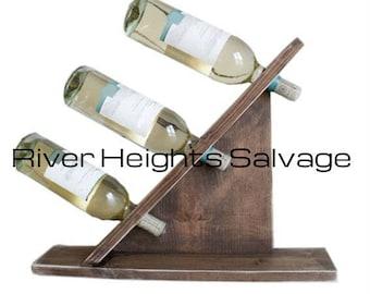 Wine Rack Table Top Vintage Wine Rack Gift Popular Wedding Gift Trending Bottle System Wine Holder Living Room Kitchen Decor Beverages