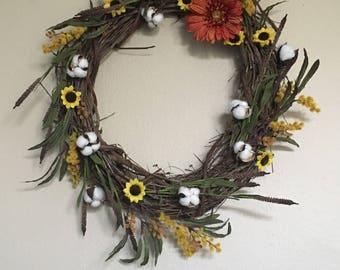 Southern Fall Wreath