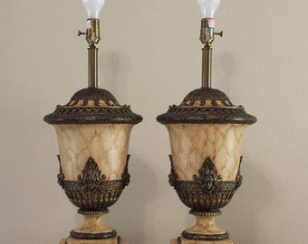 Stunning Pair of Sarried LTD Table Lamps