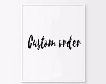 Custom quote