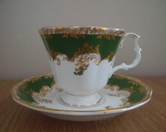 Royal Albert Emerald Teacup and Saucer