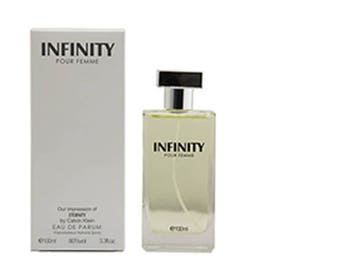 INFINITY Pour Femme Perfume Fragrances Cologne For Women EDP 3.3.oz Our Version of  Eternity