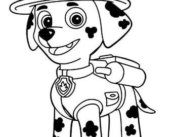 Marshall-Paw Patrol-SVG cut file