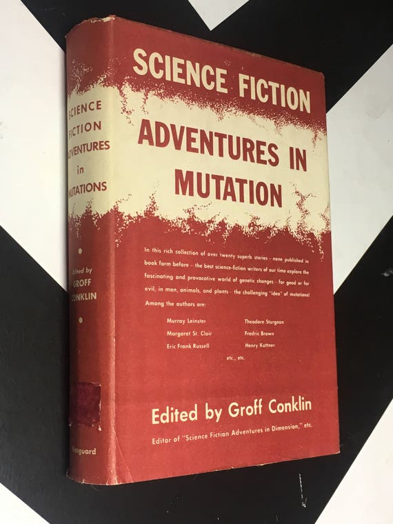 Science Fiction Adventures in Mutation Edited by Groff Conklin vintage book (Hardcover, 1955)