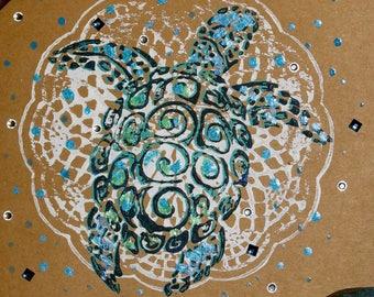 Spud the Sea Turtle