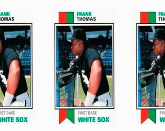 5 - 1993 SCD #61 Frank Thomas Baseball Card Lot Chicago White Sox