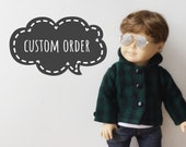 """Payment 2 of 2 for Heidi, Custom AG Doll with """"Heavenly"""" Wig"""