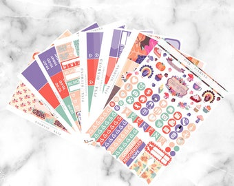Give Thanks // Epic Weekly Planner Kit (250+ Planner Stickers)