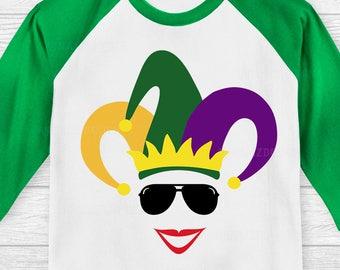 Mardi Gras Face svg, Mardi Gras svg file, Kids Mardi Gras svg, Fat Tuesday svg, Louisiana Mardi Gras svg, Mardi Gras svg,