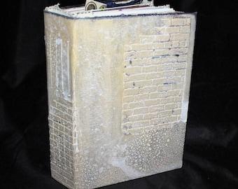Writing Journal, Junk Journal, Personal Journal, Keepsake Journal, Notes Journal, Diary Journal, Handmade Journal, Travel Journal ... BRIE